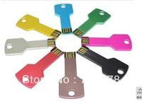 WLP1 wholesale 8GB 16GB 32GB 64GB Full Capacity Metal colors Key Model USB 2.0 Flash Pen Drive Memory Stick Car/Thumb/Pen