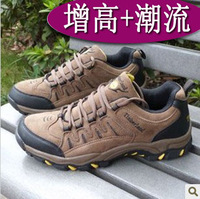 Spring and autumn male elevator shoes sports male skateboarding shoes plus size men casual shoes outdoor shoes