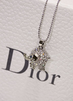 Koko circleof diamond lucky fashion all-match long necklace design