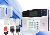 850/900/1800/1900 Home GSM SMS Security Alarm System Detector Kits Best Sell