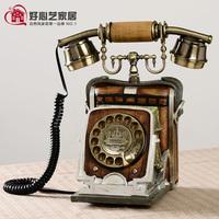 Antique telephone sitting telephone personalized decorations telephone water bottle telephone