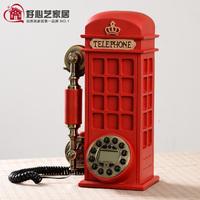 Antique telephone fashion phone vintage telephone phone booth