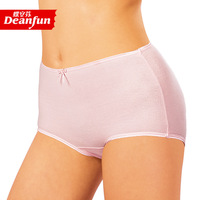 free shipping 6 100% cotton panty 100% cotton elastic in high waist belts mommas