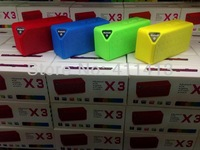 2013 New arrival 100pcs/lot portable X3 jambox bluetooth speaker with lithium battery with Retail box Free Shipping