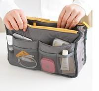 New 2014 Top Quality Portable Makeup Organizer Nylon Cosmetic Organizer Multifunction Travel Organizer Bag 6 Color Free Shipping