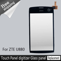 Wholesale For ZTE Blade U880 LCD Screen Touch Panel Digitizer Screen  Replacement Repair Parts Free Ship Best Quality A+++
