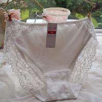 wholesale thong Hot-selling 100% comfortable cotton panties lace women's antibiotic low-waist briefs panties