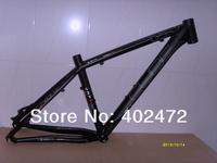 CUBE LTD Anode sandblasted black Aluminum alloy MTB Mountain bike frame bicycle frame 26*16/18 inch 1650g