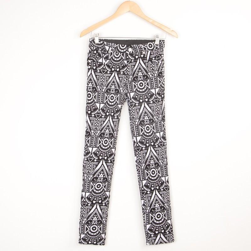 New Pattern Women39s Harem Pants In BlackHigh Cut Harem PantsCotton Harem