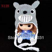 New Hot sales Fashion Lovely wholesale freeshipping stuffed animal hat,Mickey Minnie cartoon comfortable kids beanie