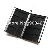 15 slots Protecter Box Storage Case for Micro SIM & SIM Card & NEEDLE Black , Free shipping