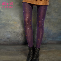 Elf SACK pirate winter vintage flower all-match socks