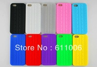 Protection Auto car TYRE TREAD Silicone Soft Case For Apple iphone 5 5s s Cover