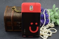 For Samsung Note 3 Smile face  TPU Case   ,  for  Free shipping