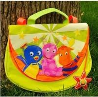 Free shipping!Backyardigans schoolbag handbag for children,cute cartoon bag for kid,1pcs/lot