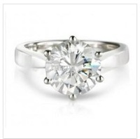 Design  Solitaire Engagement Ring Platinum &Gold