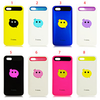 New Arrival i-COOL 2 Pieces TPU+Plastic Case for iPhone 5 5S, Stand Function with Retail Package,50 pcs/lot DHL free shipping