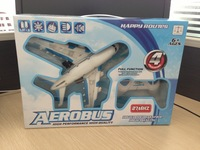 Four-way remote control toy aircraft Airbus aircraft model