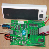 full color led display controller asynchronous hd-c1 pixel 128x384,working no need pc ,support 3g,wifi