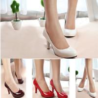New 2013 wholesale woman work wedding high heel shoes ladies pumps Office Lady shoes/high heels