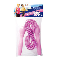 Adult child fitness rubber jump rope weight loss casual jump rope free shipipng PVC packed