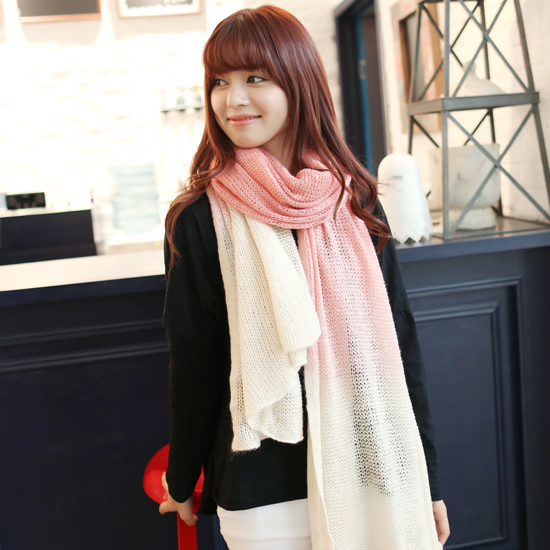 2013 women's scarf autumn and winter female scarf long thick knitted yarn paragraph(China (Mainland))
