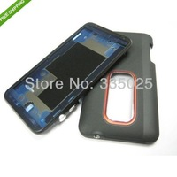 1Set free shipping for htc evo 3d full housing; front bezel cover + battery door for  htc g17 parts accessories original new