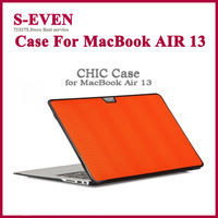 New Fashion Fluorescence Color  Protecter Sleeve Case For Macbook Air 13  Cover Free Shipping