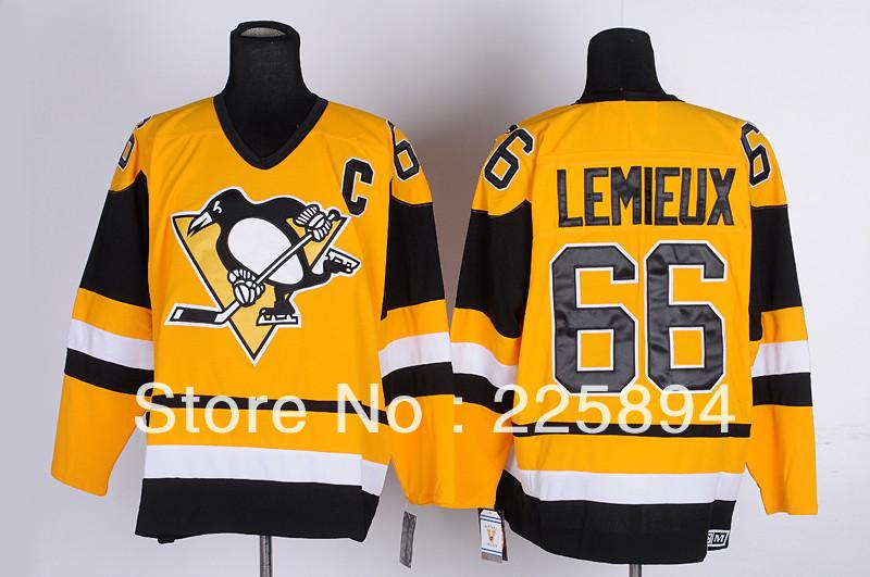 Hockey Mario Lemieux Jersey Jerseys 66 Mario Lemieux