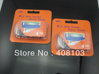 Promotion! Free Ship 800pcs/lot  No brand  Razor  Blade  100% Grade AAA Quality Shaver Blades