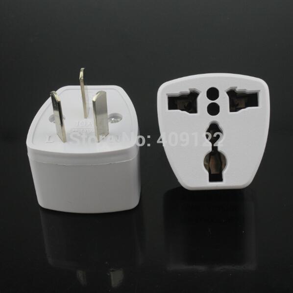 CN 5pcs/lot UK/US/EU Universal to AU 3 Pin Power Plug Adapter Travel Converter Australia(China (Mainland))
