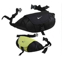 Men and women Unisex sports waist bag Black Green Orange Leisure package 28 * 15 * 11cm  Free Shipping