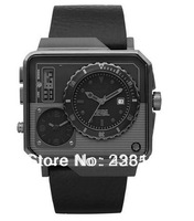 New DZ7241 7241 Multi 3 time Analog Digital Zones Black Dial Men's Watch
