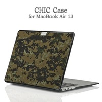 6 Design Fashion Plaid Pattern, Camouflage Color New Case Cover For For Apple Macbook Air 13 Free Shipping