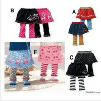 Children's clothing infant knit dress pants legging skirt