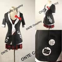 Anime Dangan Ronpa Cosplay Clothes / Junko Enoshima Cosplay Costume + Necktie