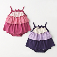 2013 children's clothing summer infant romper suspender skirt bodysuit