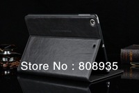 30pcs/lot Free Shipping Luxury Case For ipad 5 High Quality Business Stand Cover Leather Case For Apple iPad Air