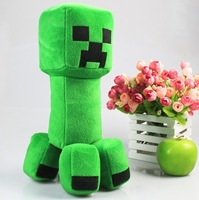 Minecraft Creeper anime toys 10'' 25cm  Plush toys cute Good quality