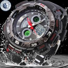 Free shipping waterproof lcd backlight hot sale wristwatch famous brand relogio masculino quartz men sport watches digital 1311R(China (Mainland))
