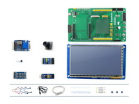 Cubieboard Acce B # Accessories for Cubieboard, 7inch LCD + DVK521(with I2C SPI VGA interface) + camera +FRAM + DataFlash
