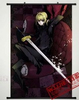 2013 Free Shipping Fate zero saber 90 60 - 047 decorative painting mural cloth paintings  1 pcs in stock