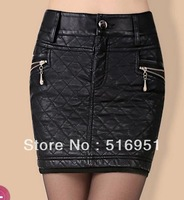 Free shipping The new han edition with thick cotton bag hip skirts