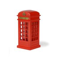 hh vintage pillar-box telephone booth creative piggy bank piggy bank birthday gift decoration