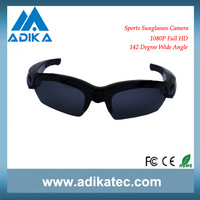 Hot Selling 1080P Sport Sunglasses Camera with Wide View Angle ADK-S918