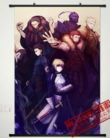 2013 Free Shipping Fate zero saber 90 60 - 138 decorative painting mural cloth paintings  1 pcs in stock
