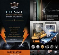 Buff Shock Ultimate Shock Explosion Proof Screen Protector for Samsung Galaxy S4 i9500  front