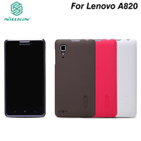 5Pcs/lot NILLKIN super frosted shield case for Lenovo P780 With Screen protector + Retailed package.Free shipping