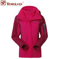 Thermal three-in 2013 women's set fleece outdoor jacket twinset tawb92216