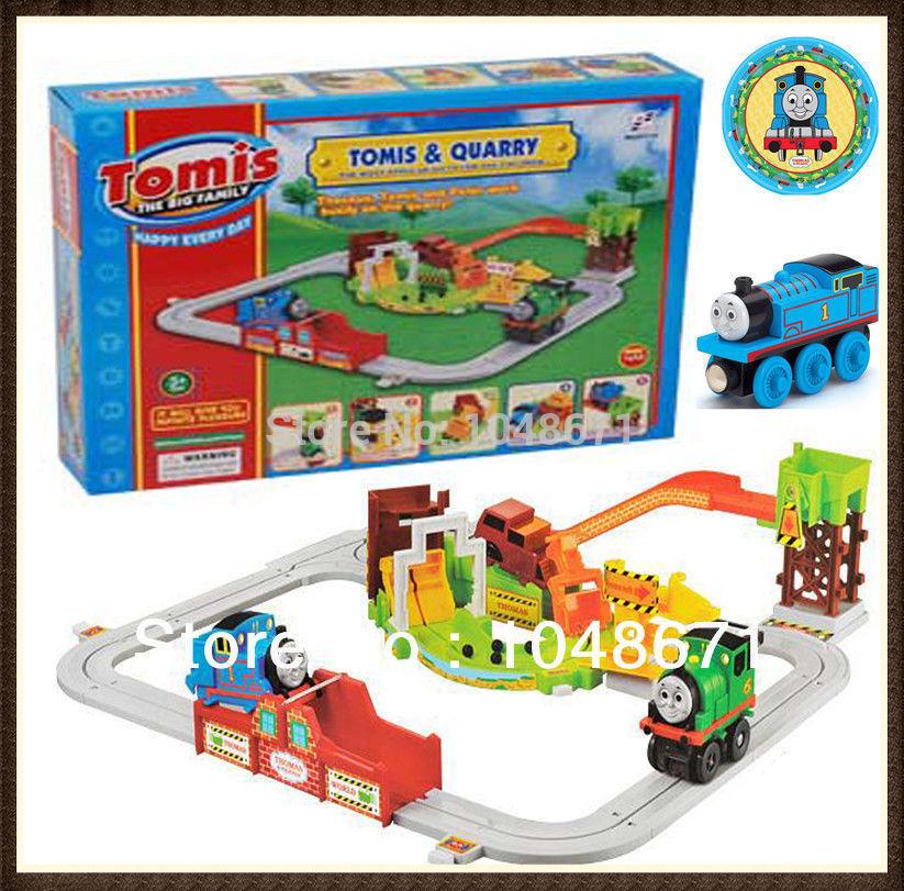 Thomas Train Set Thomas Amp Friends The Tank Engine Train Track Set Kid Table Board Family Game